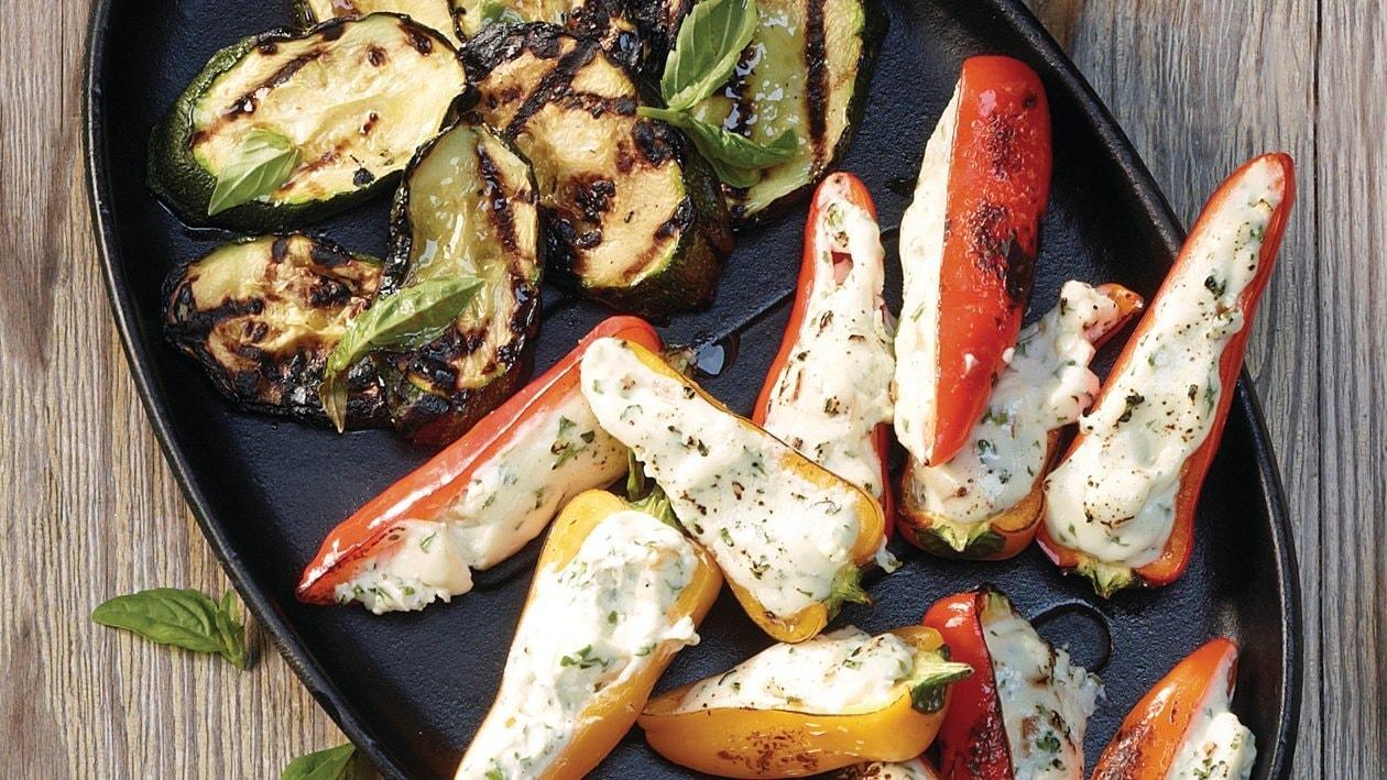 Légumes farcis grillés