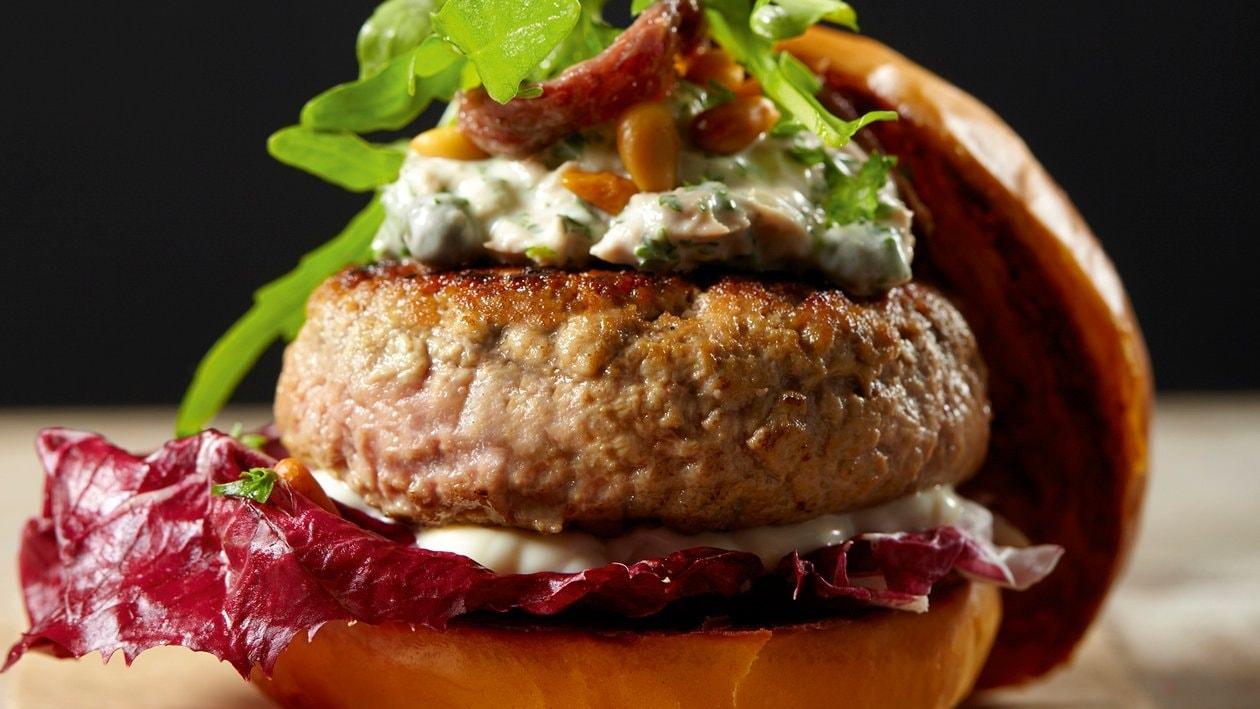 Burger au vitello tonnato