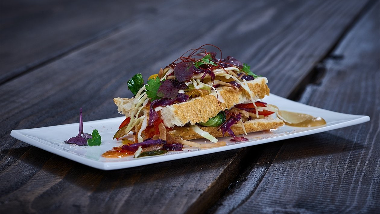 Sandwich Banh Mi végétarien