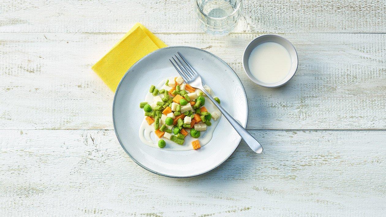 Salade russe en purée