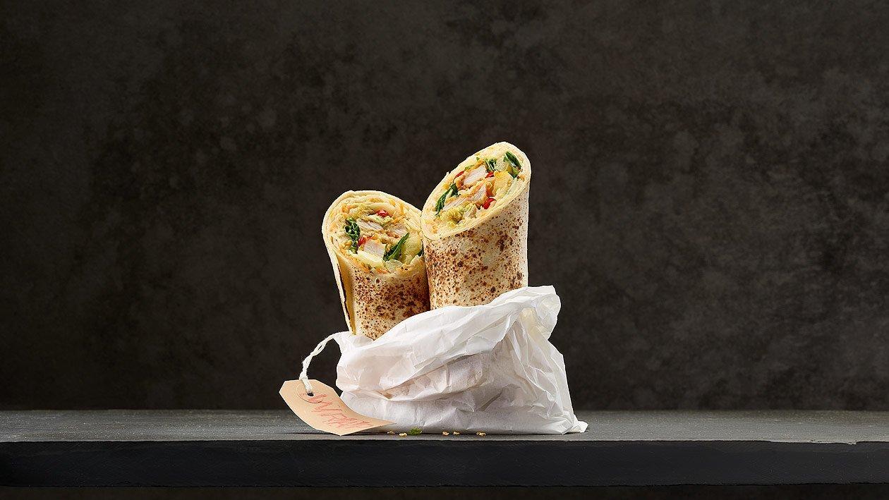 Coleslaw en wrap