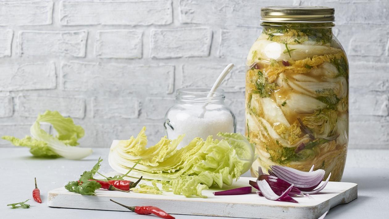 Kimchi, chou fermenté