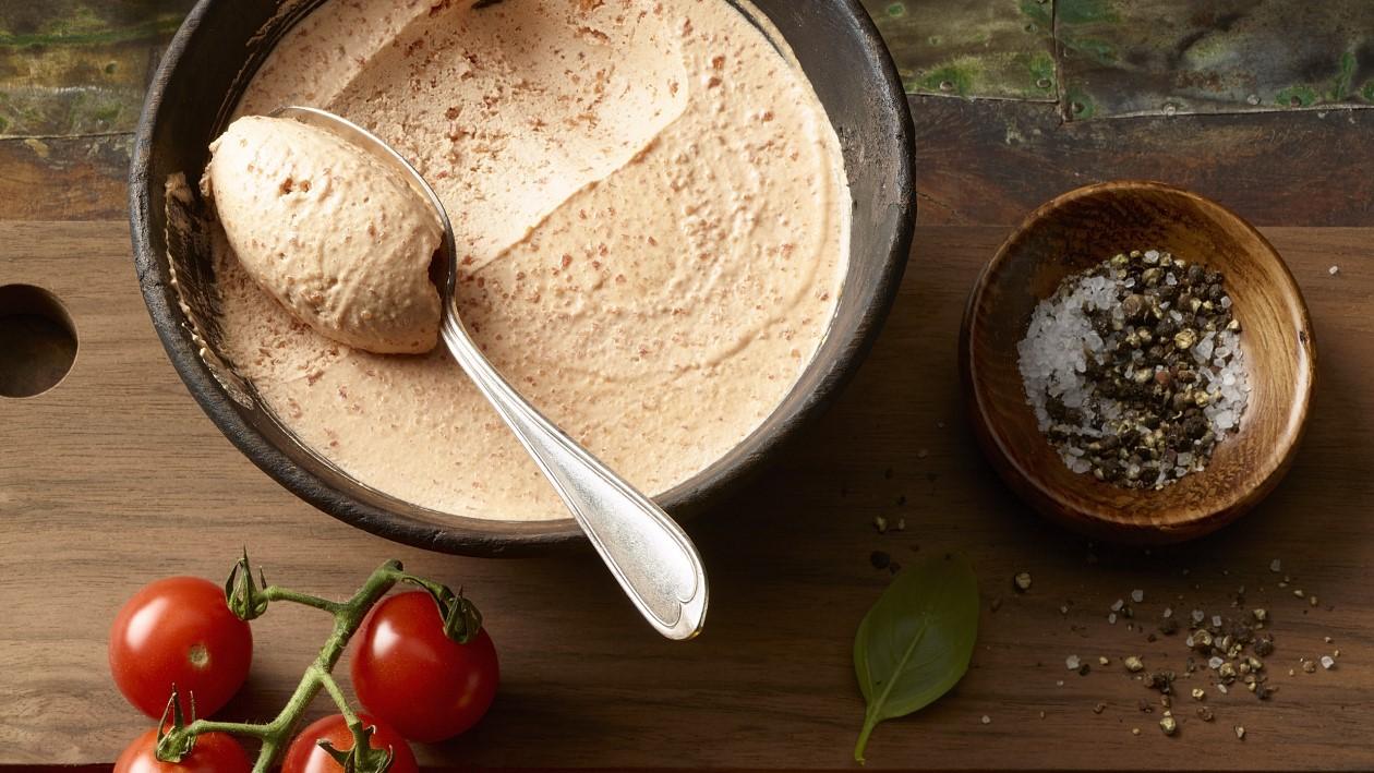 Mousse de tomate 1 2 3  SANS LACTOSE