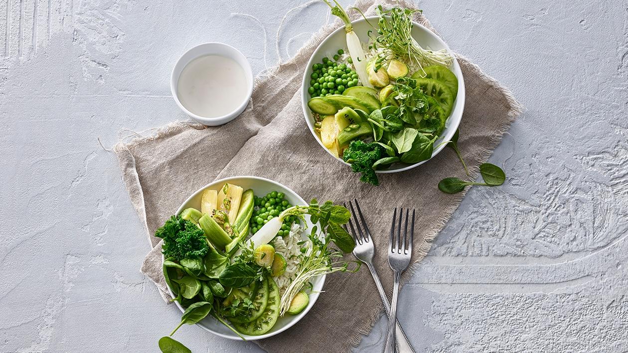 "Bol de salade ""puissance verte"""