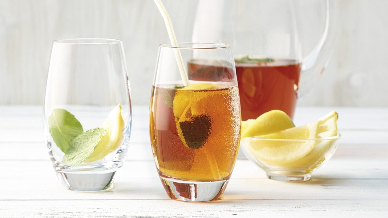 Hausgemachter Eis-Tee