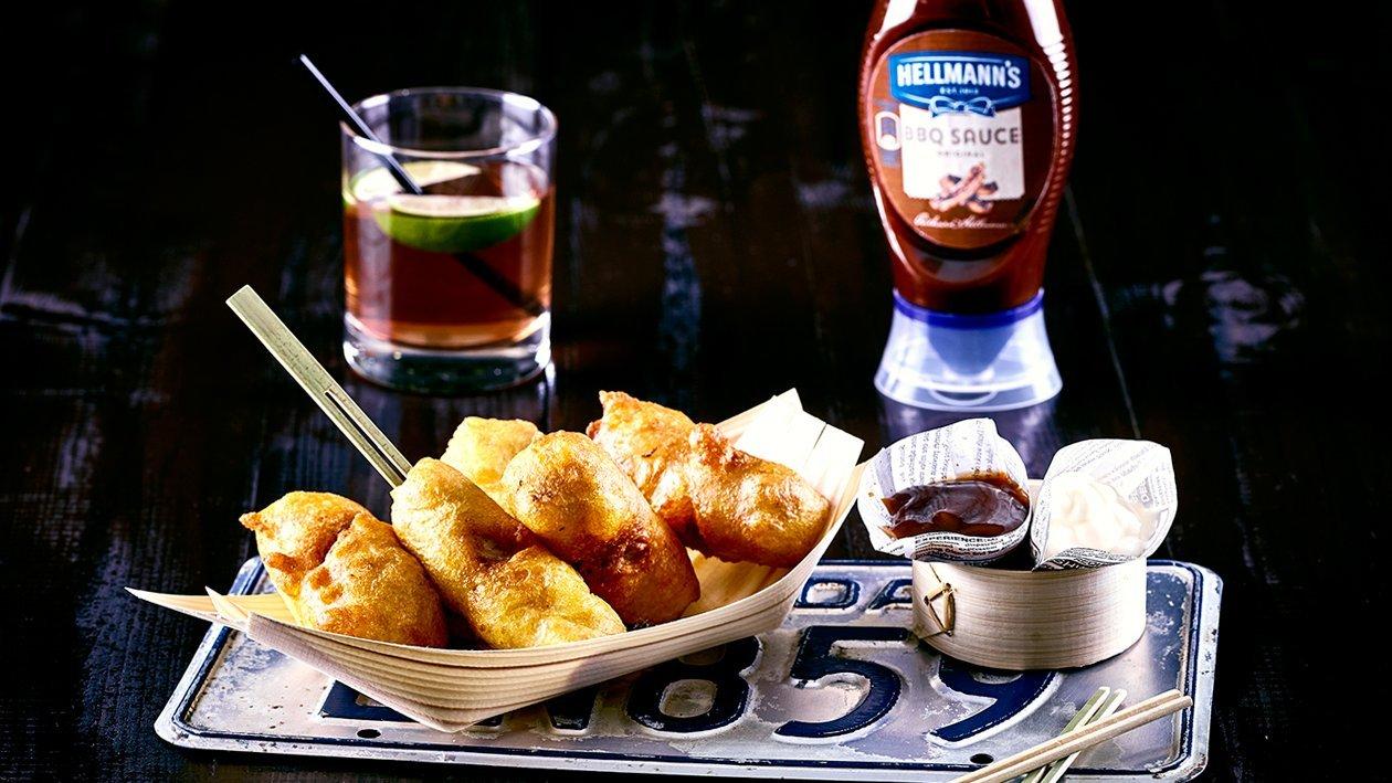 Poitrine de porc tempura