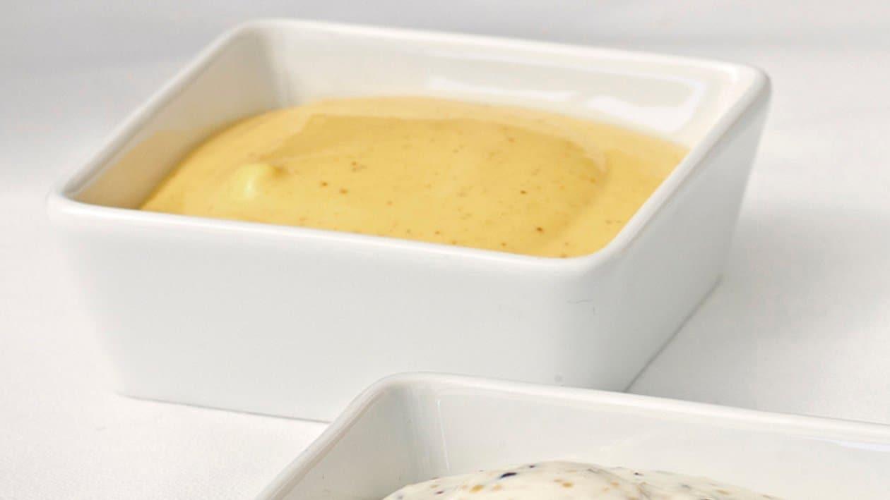 Dip de mangue au curry