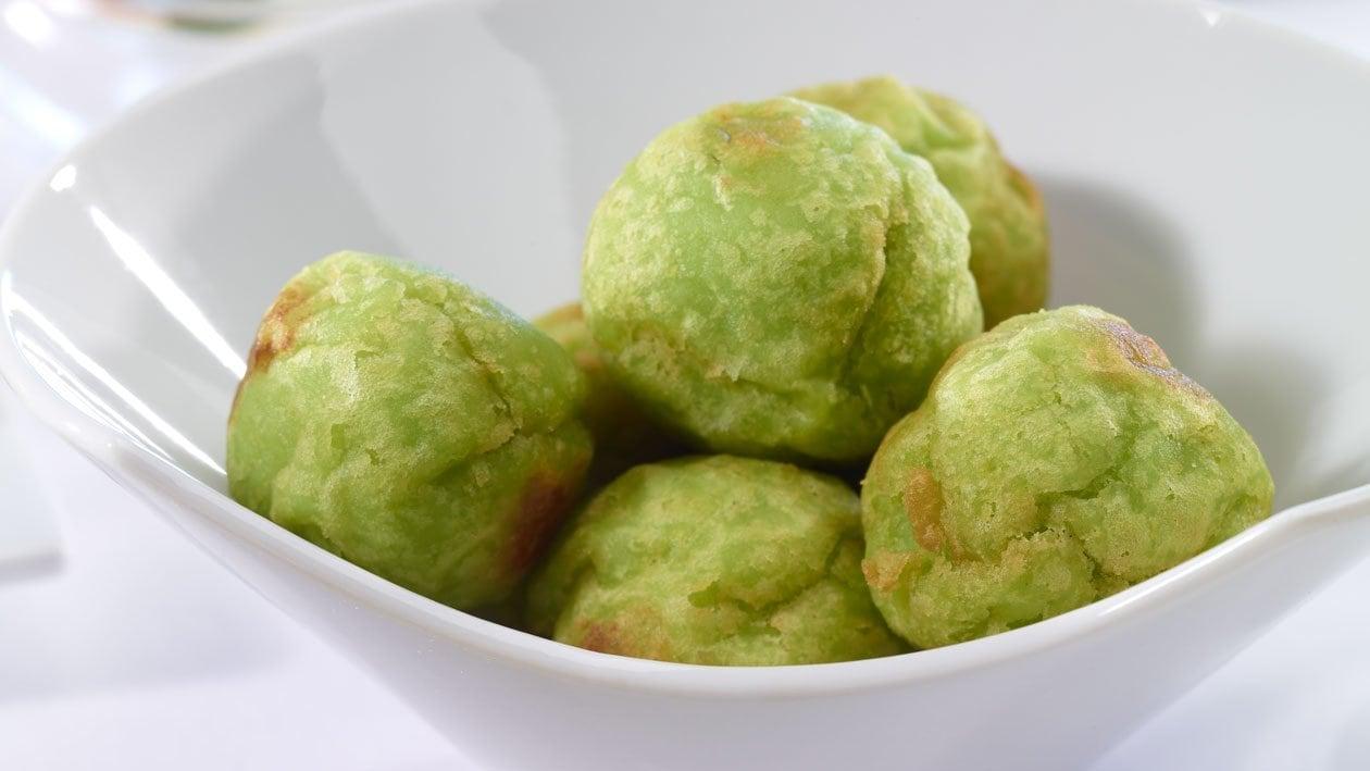 Boules de pommes de terre frites Wakame