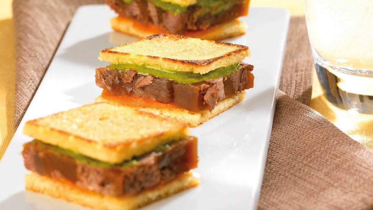 FF EBW Pain aux pommes de terre pour sandwich de boeuf braisé