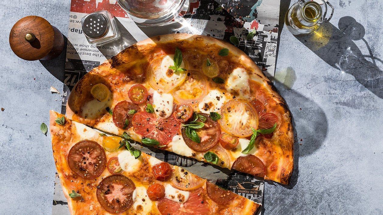 Pizza Pomodoro, simple et rapide à emporter