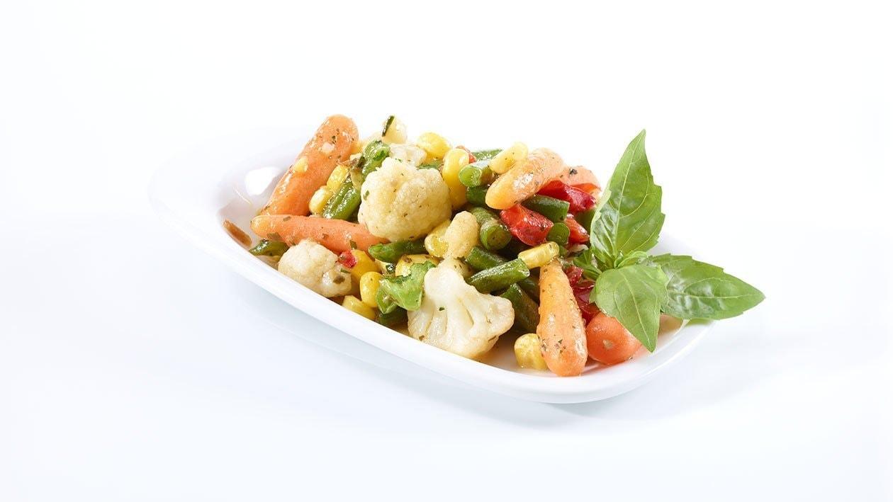 Légumes «Gourmet» au pesto